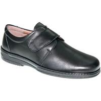 Sapatos Homem Mocassins Primocx Sapato especial de velcro para homens para diabéticos muito conf negro