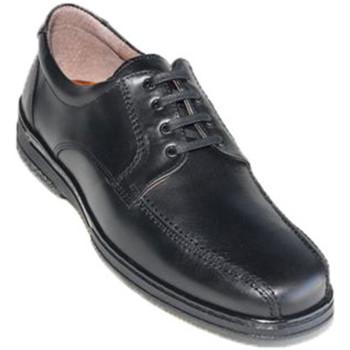 Sapatos Homem Sapatos Primocx Cabos de sapato especiais para diabéticos muito confortáveis  em negro