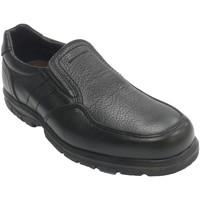 Sapatos Homem Mocassins Made In Spain 1940 Sapato de borracha de borracha elástica negro