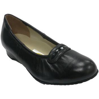 Sapatos Mulher Mocassins Roldán Manoletina mulher para pessoa idosa muito confortável  em Preto negro