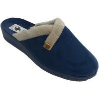 Sapatos Mulher Chinelos Nevada Deslizador de mulher aberto por trás de estar em casa  em Azul-m azul