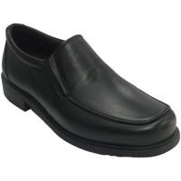 Sapatos Homem Mocassins Nifty Sapato de borracha para homens nos lados negro