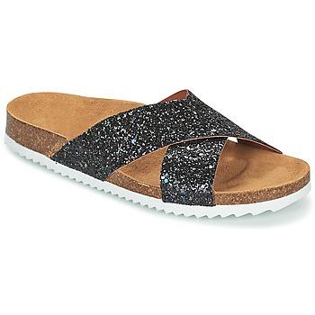 Sapatos Mulher Chinelos Le Temps des Cerises FALONE Preto