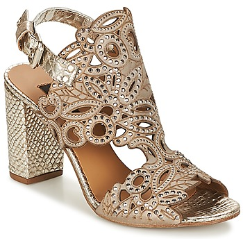 Sapatos Mulher Sandálias Mimmu 567J1A Ouro