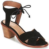 Sapatos Mulher Sandálias Casual Attitude ITELO Preto
