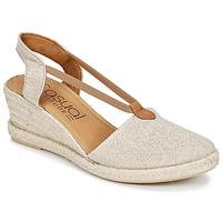 Sapatos Mulher Sandálias Casual Attitude IPOP Dourado
