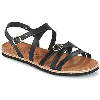 Sapatos Mulher Sandálias Casual Attitude ILMEM Preto