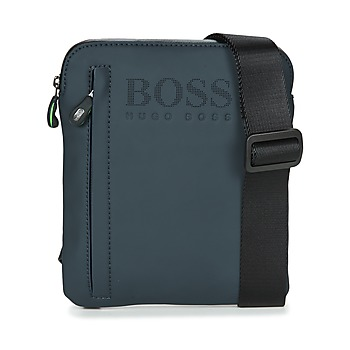Malas Homem Pouch / Clutch Hugo Boss Green HYPER T S ZIP Marinho / Branco
