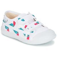 Sapatos Rapariga Sapatilhas Citrouille et Compagnie GLASSIA Branco