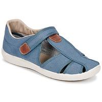 Sapatos Rapaz Sandálias Citrouille et Compagnie GUNCAL Azul