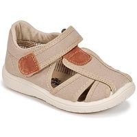 Sapatos Rapaz Sandálias Citrouille et Compagnie GUNCAL Bege