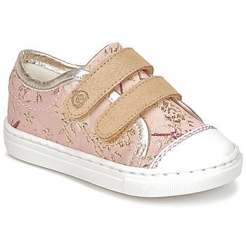 Sapatos Rapariga Sapatilhas Citrouille et Compagnie INACUFI Rosa / Ouro