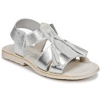 Sapatos Rapariga Sandálias Citrouille et Compagnie INAPLATA Prata