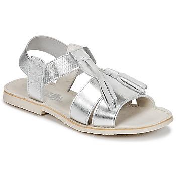 Sapatos Rapariga Sandálias Citrouille et Compagnie INAPLATA Prateado