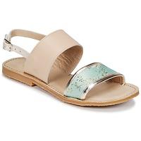 Sapatos Rapariga Sandálias Citrouille et Compagnie IOCHARLI Bege / Azul