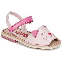 Sapatos Rapariga Sandálias Citrouille et Compagnie ILOUDFI Rosa
