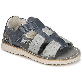 Sapatos Rapaz Sandálias Citrouille et Compagnie IOUTIKER Azul / Cinza