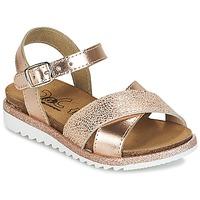 Sapatos Rapariga Sandálias Citrouille et Compagnie GAUFRETTE Bronze