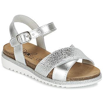 Sapatos Rapariga Sandálias Citrouille et Compagnie GAUFRETTE Prateado