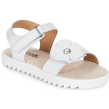Sapatos Rapariga Sandálias Citrouille et Compagnie ILODO Branco