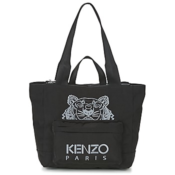 Malas Mulher Cabas / Sac shopping Kenzo KANVAS TIGER TOTE LARGE Preto