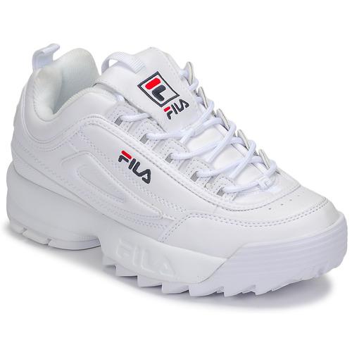fc4f831b6fb Fila DISRUPTOR LOW WMN Branco - Sapatos Sapatilhas Mulher 99