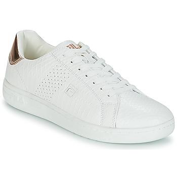 Sapatos Mulher Sapatilhas Fila CROSSCOURT 2 F LOW WMN Branco / Rosa / Ouro