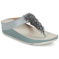 Sapatos Mulher Chinelos FitFlop CHA-CHA TOE-THONG SANDALS CRYSTAL Azul