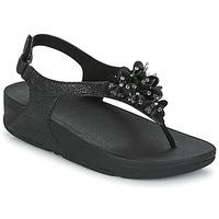 Sapatos Mulher Sandálias FitFlop BOOGALOO BACK STRAP SANDAL Preto