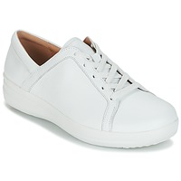Sapatos Mulher Sapatilhas FitFlop F-SPORTY II LACE UP SNEAKERS Branco
