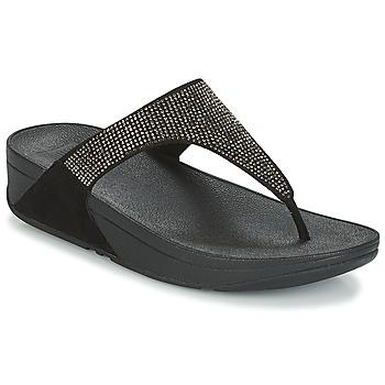 Sapatos Mulher Chinelos FitFlop SLINKY ROKKIT Preto
