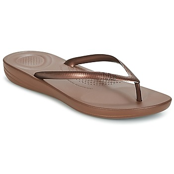 Sapatos Mulher Chinelos FitFlop IQUSHION ERGONOMIC FLIP FLOPS Bronze