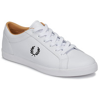 Sapatos Homem Sapatilhas Fred Perry BASELINE LEATHER Branco