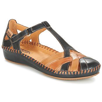 Sapatos Mulher Sabrinas Pikolinos P. VALLARTA 655 Marinho / Camel