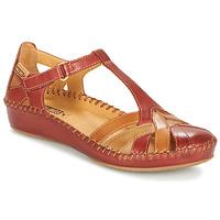 Sapatos Mulher Sandálias Pikolinos P. VALLARTA 655 Castanho