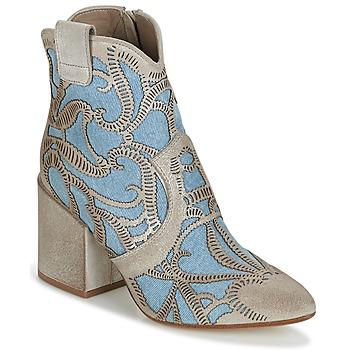 Sapatos Mulher Botins Now MOVIDA Bege / Ganga