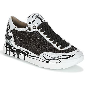 Sapatos Mulher Sapatilhas Now CARK Preto / Branco