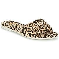 Sapatos Mulher Chinelos Lola Ramona COCCO Leopardo