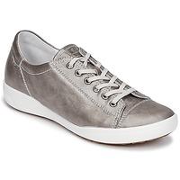 Sapatos Mulher Sapatilhas Josef Seibel SINA 11 Prata
