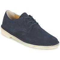 Sapatos Homem Sapatilhas Clarks Desert Crosby Navy