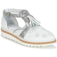 Sapatos Mulher Sapatos Regard RASTANU Branco / Prateado