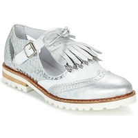 Sapatos Mulher Sapatos Regard RETAZO Branco / Prateado