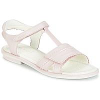 Sapatos Rapariga Sandálias Geox J S.GIGLIO A Rosa