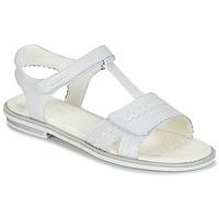 Sapatos Rapariga Sandálias Geox J S.GIGLIO A Branco