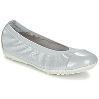 Sapatos Rapariga Sabrinas Geox J PIUMA BAL A Cinza / Prata