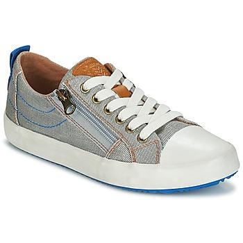 Sapatos Rapaz Sapatilhas Geox J ALONISSO B. D Cinza / Azul