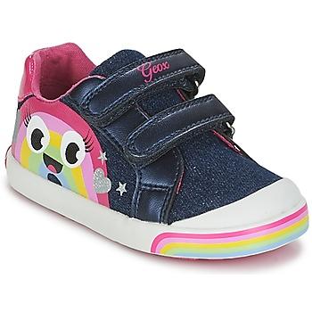 Sapatos Rapariga Sapatilhas Geox B KILWI G. C Ganga / Rosa