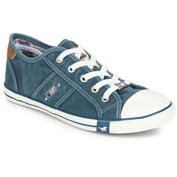 Sapatos Mulher Sapatilhas Mustang RUGARL Azul