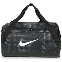 Malas Saco de desporto Nike BRASILIA SMALL Preto / Branco