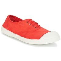 Sapatos Mulher Sapatilhas Bensimon TENNIS LACET Vermelho